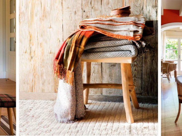 Decora tu casa para el frío y hazla más acogedora